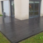 terrasse bois composite noir 3