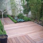 terrasse bois jardin japonais 1