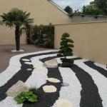 terrasse bois jardin japonais 2