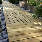 terrasse jardin bois castorama 1