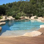 terrasse piscine sur sable 1