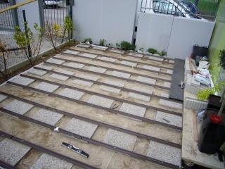 Terrasse bois composite castorama for Arranger sa terrasse