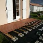 terrasse bois composite sur plots 3