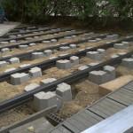 terrasse bois composite sur plots 4