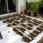 terrasse bois composite sur plots 6