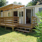 terrasse bois mobil home occasion 4