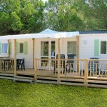 terrasse bois mobil home occasion 5
