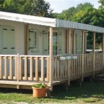 terrasse bois mobil home occasion 6