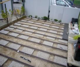 terrasse composite sur pilotis. Black Bedroom Furniture Sets. Home Design Ideas