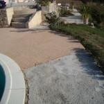 terrasse gravier sable 1
