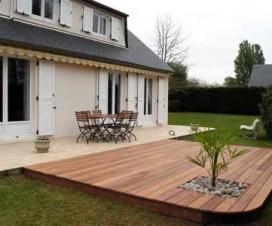 terrasse jardin bois 1