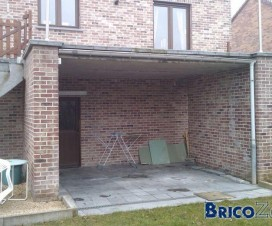 terrasse suspendue sur toit 1