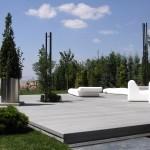 terrasse bois composite gris clair 2