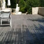 terrasse bois composite gris clair 3