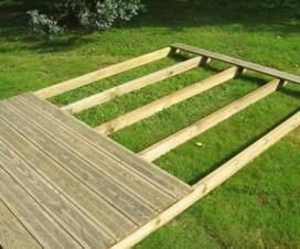 Terrasse couverte mobil home - Terrasse bois clipsable ...