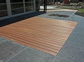 terrasse bois sur carrelage 1