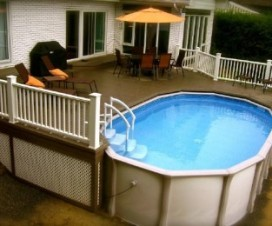 terrasse autour d une piscine hors sol 1