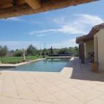 terrasse avec piscine 2