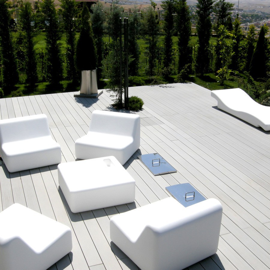 terrasse composite gris clair. Black Bedroom Furniture Sets. Home Design Ideas