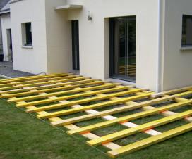 terrasse composite pose 1