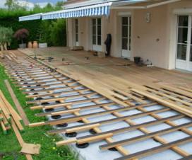 Terrasse bois composite et carrelage - Terrasse bois ou carrelage ...
