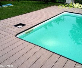 Terrasse bois composite point p for Bois composite pour terrasse piscine