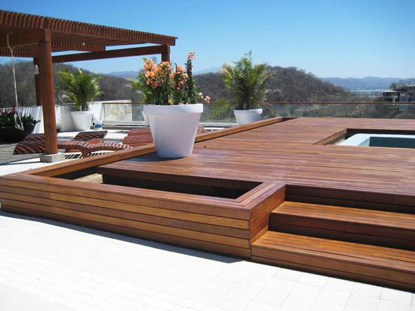 terrasse bois cumaru. Black Bedroom Furniture Sets. Home Design Ideas