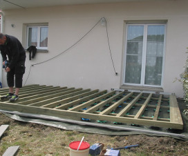 terrasse composite construction 1