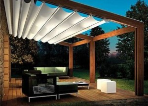 terrasse couverte pergola. Black Bedroom Furniture Sets. Home Design Ideas