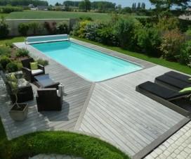 terrasse dans la piscine 1
