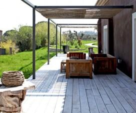 terrasse de jardin en teck 1