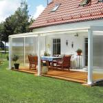 terrasse couverte alu. Black Bedroom Furniture Sets. Home Design Ideas