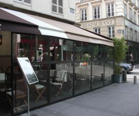 terrasse couverte de restaurant 1