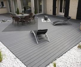 terrasse en composite gris 1
