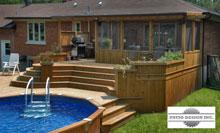 terrasse avec piscine hors terre 1