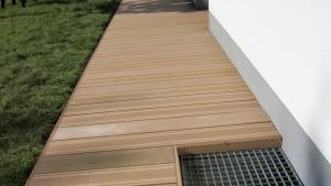 terrasse composite chaleur