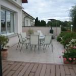 terrasse bois composite et carrelage 1