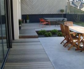 Terrasse sur terre vegetale - Terrasse bois ou carrelage ...