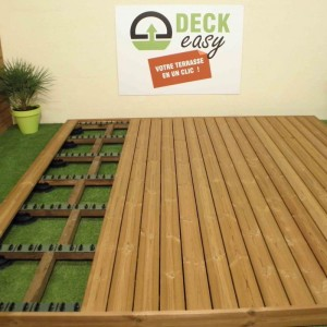 terrasse bois en kit. Black Bedroom Furniture Sets. Home Design Ideas