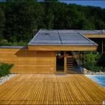 terrasse bois sur toiture zinc 2