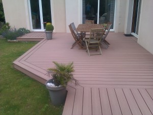 Terrasse composite sur dalle beton - Dalles terrasse composite ...