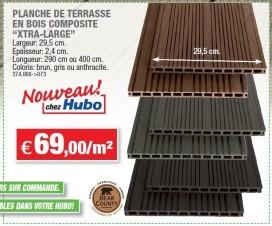 terrasse bois composite hubo 1
