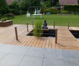 terrasse bois et pierre 1