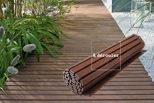 terrasse bois facile. Black Bedroom Furniture Sets. Home Design Ideas