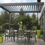 terrasse couverte lames orientables 3