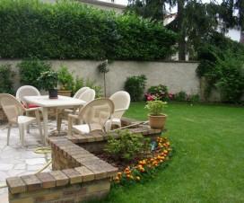 terrasse dans un jardin 1
