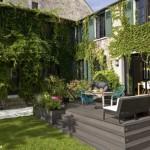 terrasse dans un jardin 2
