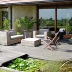 terrasse dans un jardin 4