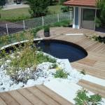 terrasse dans un jardin 5