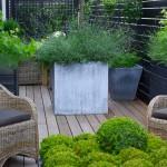 terrasse dans un jardin 6